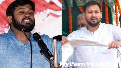 View Full Screen: bihar politics kanhaiya kumar jibes at tejashwi yadav.jpg