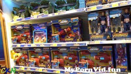 View Full Screen: avengers infinity war toys hunt shopping fun with ckn toys.jpg