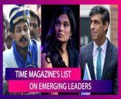 Five Indian-origin personalities, including Bhim Army chief Chandra Shekhar Aazad, Twitter's top lawyer Vijaya Gadde & UK's finance minister Rishi Sunak, feature in TIME magazine's annual list of 100 \