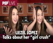 Sinagot ni Liezel Lopez ang tanong ng isang PEPster na nanonood sa kanyang PEP Live interview nung nakaraang Martes, April 27.<br/><br/>Tanong ng PEPster, \
