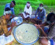 BREAD GULAB JAMUN _ Making Gulab Jamun using Bread _ Indian Dessert Recipes Cooking in Village