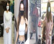 Sara Ali Khan, Krishna Shroff, Urvashi Rautela & Rakul Preet Singh Snapped In Bandra