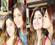 After the Bigg Boss OTT finale,actor Shilpa Shetty is happy to reunite with sister Shamita Shetty.