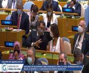 Discurso do Bolsonaro na ONU