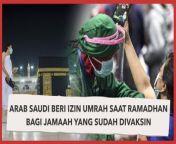 Pemerintah Arab Saudi akan memberikan izin ibadah umrah dan berkunjung ke Masjidil Haram dan Masjid Nabawi mulai bulan Ramadhan 2021 ini.<br/><br/>Melansir dari Antara, Selasa (6/4/2021) Kementerian Haji dan Umrah Arab Saudi sebut pemberian izin yang mulai berlaku tanggal 1 Ramadhan 1442 Hijriah.<br/><br/>Izin ibadah umrah saat Ramadhan tahun ini diberikan kepada orang-orang yang telah menjalani vaksinasi. Selengkapnya, tonton dalam video ini. <br/><br/>#Umrah #PemerintahArabSaudi #IbadahUmrah<br/><br/>Video Editor: Andika Bagus<br/>==================================<br/>Homepage: https://www.suara.com<br/>Facebook Fan Page: https://www.facebook.com/suaradotcom<br/>Instagram: https://www.instagram.com/suaradotcom/<br/>Twitter:https://twitter.com/suaradotcom