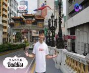 Aired (July 17, 2021): Sabik ka na rin bang mag-food trip sa Binondo? Samahan si Nikki Co sa kanyang paglilibot kasama ang 'Taste Buddies!'