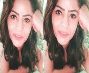 Gehana Vasisth comes Nude LIVE on Instagram. Watch Video to know more.<br/> <br/>#GehanaVasisth#GehanaVasisthLIVE #GehanaVasisth