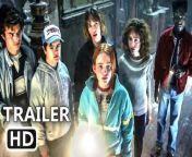 STRANGER THINGS Season 4 Sneak Peek Trailer (2021) Millie Bobby Brown, Winona Ryder, David Harbour, Sadie Sink, Natalia Dyer Netflix Series<br/>© 2021 - Netflix