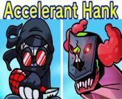 Friday Night Funkin' VS Accelerant Hank (Tricky Phase 3, Deimos, Sanford) (FNF Mod) Madness Combat