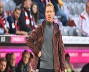 Bayern-Trainer Julian Nagelsmann lobt Bayer Leverkusen vor dem direkten Duell in der Bundesliga in höchsten Tönen und spricht außerdem über die Toptalente Florian Wirtz und Jamal Musiala.